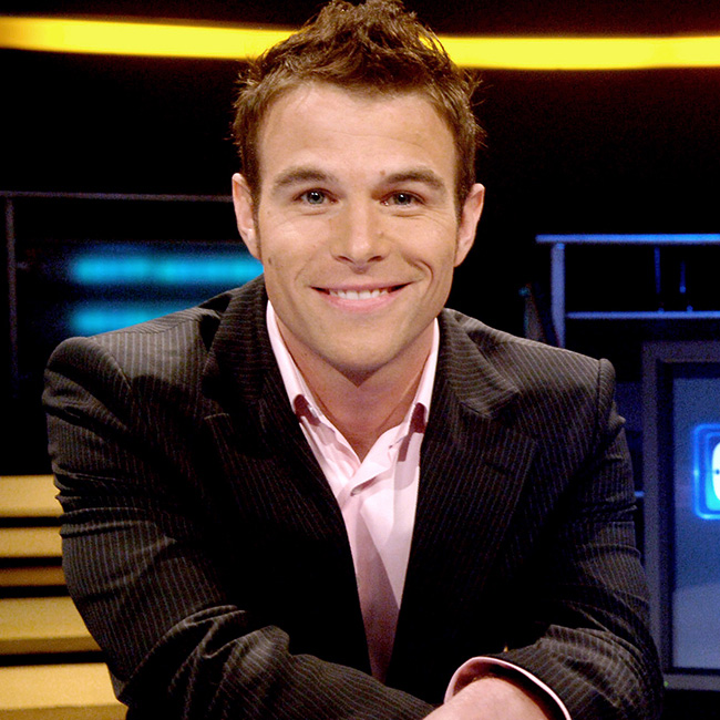 The American television game show host Dylan Lane, 40