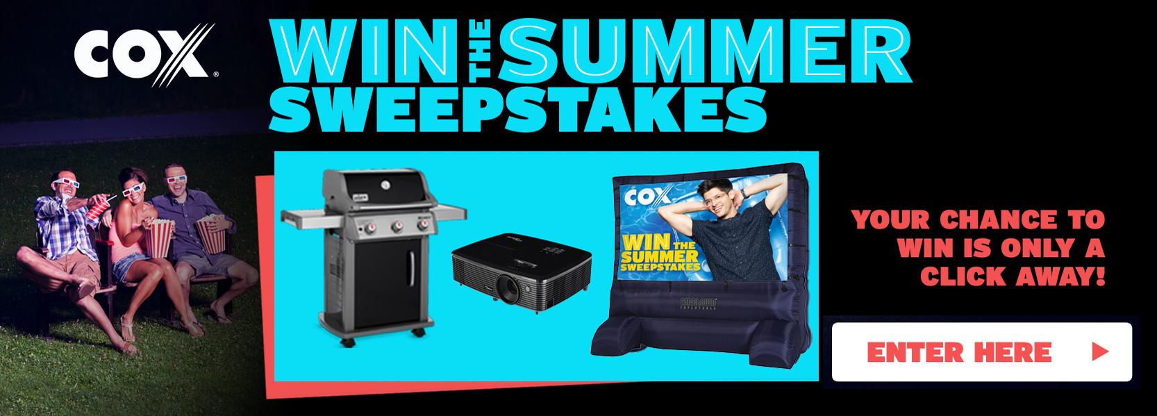 GSNTV | Cox Summer Sweepstakes
